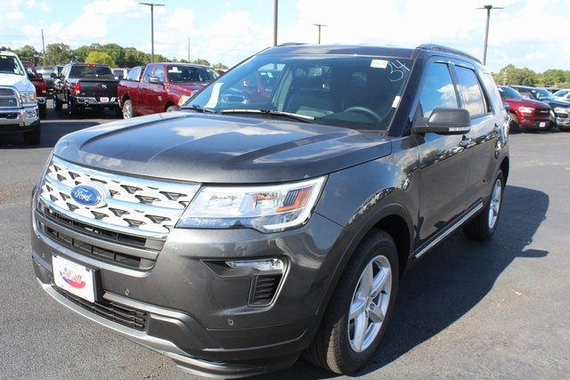 New 2019 Ford Explorer XLT 4D Sport Utility in Mount Pleasant #F6632 | Elliott Auto Group