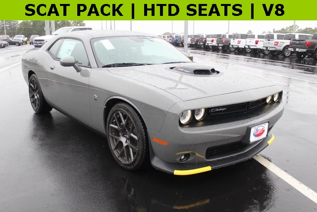 New 2019 Dodge Challenger R T Scat Pack 2d Coupe In Mount Pleasant