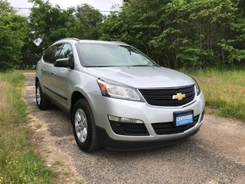 Pre-Owned 2017 Chevrolet Traverse FWD 4dr LS w/1LS