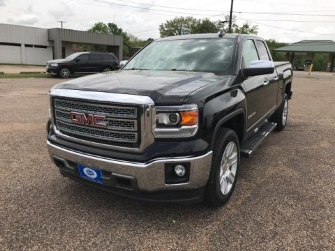 Pre-Owned 2015 GMC Sierra 1500 2WD Double Cab 143.5 SLT